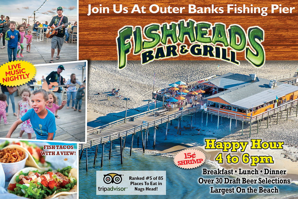$1 OFF OUTER BANKS FISHING PIER FISHING PASS