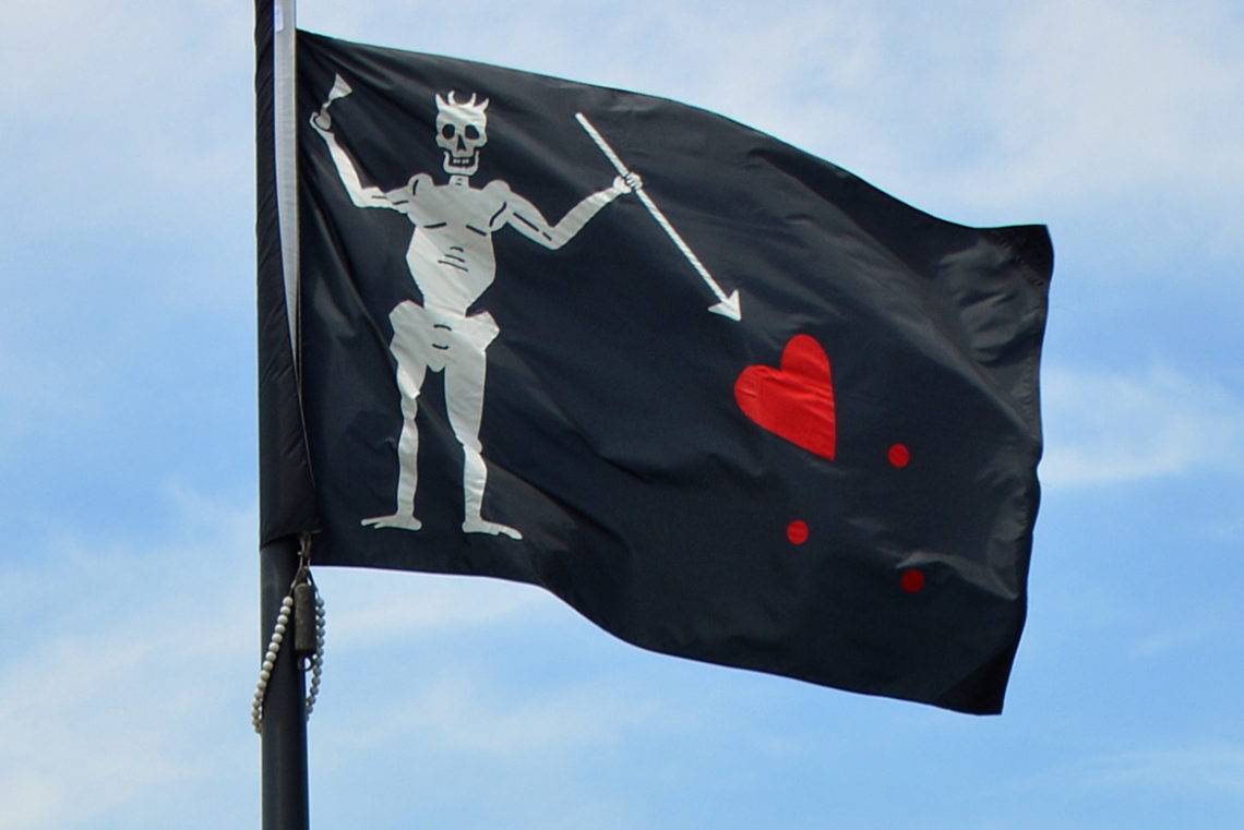 Blackbeard the Pirate - Ocracoke-NC.com